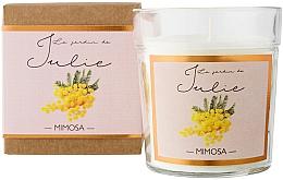 """Parfüm, Parfüméria, kozmetikum Illatgyertya """"Mimóza"""" - Ambientair Le Jardin de Julie Mimosa"""