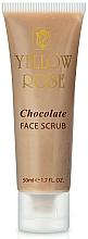 Parfüm, Parfüméria, kozmetikum Energizáló csokoládés radír - Yellow Rose Chocolate Face Scrub