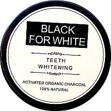 Parfüm, Parfüméria, kozmetikum Fogfehérítő por aktív szénnel - Biomika Black For White Teeth Whitening