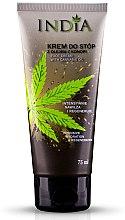 Parfüm, Parfüméria, kozmetikum Lábkrém kenderolajjal - India Foot Cream With Cannabis