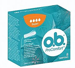 Parfüm, Parfüméria, kozmetikum Tampon, 8db, 4 csepp - o.b. ProComfort Super Tampons
