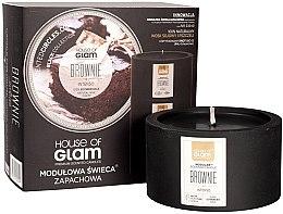 Parfüm, Parfüméria, kozmetikum Illatosított gyertya - House of Glam Brownie Intenso Candle