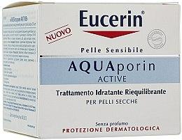 Parfüm, Parfüméria, kozmetikum Arckrém - Eucerin AquaPorin Active Deep Long-lasting Hydration For Dry Skin