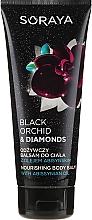 Parfüm, Parfüméria, kozmetikum Tápláló testbalzsam - Soraya Black Orchid & Diamonds Nourishing Body Balm