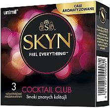 Parfüm, Parfüméria, kozmetikum Óvszer, 3db - Unimil Skyn Cocktail Club