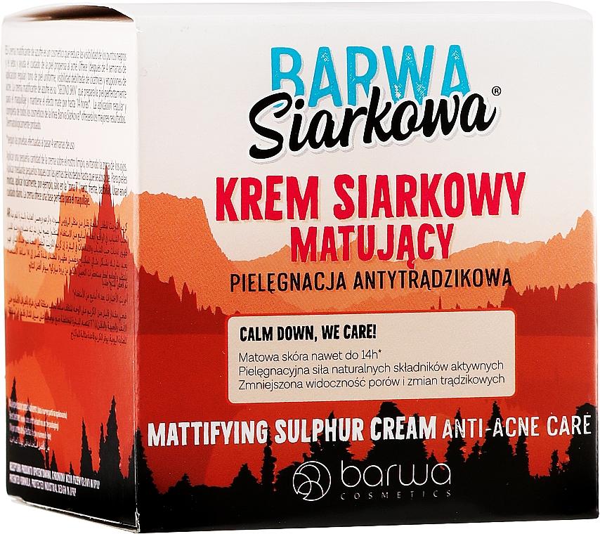 Krém pattonások ellen - Barwa Anti-Acne Cream Sulfuric