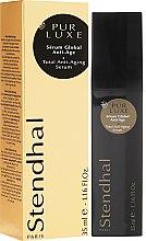 Parfüm, Parfüméria, kozmetikum Komplex ránctalanító szérum - Stendhal Pur Luxe Total Anti-Aging Serum