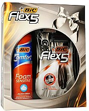 Parfüm, Parfüméria, kozmetikum Szett - Bic Flex 5 Comfort (razor/3pcs + foam/200ml)