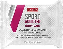 Parfüm, Parfüméria, kozmetikum Nedves törlőkendő testre - Pupa Sport Addicted Wipers