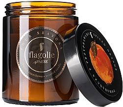 """Parfüm, Parfüméria, kozmetikum Illatgyertya üvegben """"Narancs fűszerekkel"""" - Flagolie Fragranced Candle Spiced Orange"""