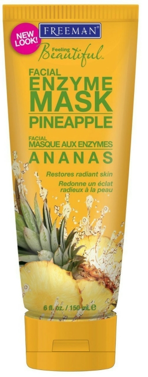 "Enzimes arcmaszk ""Ananász"" - Freeman Feeling Beautiful Pineapple Enzyme Mask"