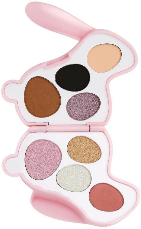 Szemhéjfesték paletta - I Heart Revolution Bunny Blossom Palette