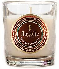 """Parfüm, Parfüméria, kozmetikum Illatosított gyertya """"Szantálfa"""" - Flagolie Fragranced Candle Sandalwood"""