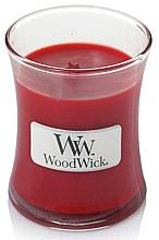 Parfüm, Parfüméria, kozmetikum Illatgyertya pohárban - WoodWick Hourglass Candle Pomegranate
