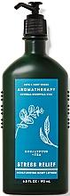 Parfüm, Parfüméria, kozmetikum Bath and Body Works Eucalyptus Tea Stress Relief - Testápoló
