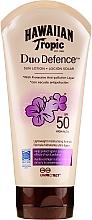 Parfüm, Parfüméria, kozmetikum Napvédő testápoló - Hawaiian Tropic Duo Defence Sun Lotion SPF50