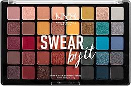 Parfüm, Parfüméria, kozmetikum Szemhéjfesték paletta - NYX Professional Makeup Swear By It Shadow Palette