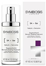 Parfüm, Parfüméria, kozmetikum S.O.S. szérum pattanások ellen - Symbiosis London Targeted S.O.S Blemish Clearing Treatment