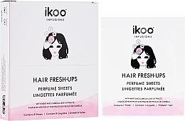 Parfüm, Parfüméria, kozmetikum Parfümözött kendő hajra - Ikoo Infusions Hair Fresh-Ups Parfume Sheets