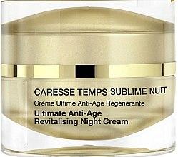 Parfüm, Parfüméria, kozmetikum Fiatalító helyreállító éjszakai arckrém - Qiriness Caresse Temps Sublim Nuit