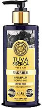 Parfüm, Parfüméria, kozmetikum Tápláló hajápoló balzsam - Natura Siberica Tuva Siberica Yak Milk Nourishing Bio-Conditioner