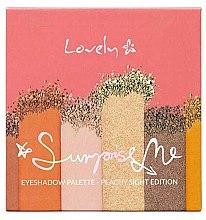 Parfüm, Parfüméria, kozmetikum Szemhéjfesték paletta - Lovely Surprise Me Eyeshadow Palette Peachy Sight Edition