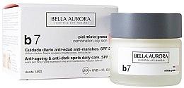 Parfüm, Parfüméria, kozmetikum Pigmentfoltok elleni krém kombinált és zsíros bőrre - Bella Aurora B7 Combination/Oily Skin Daily Anti-Dark Spot Care