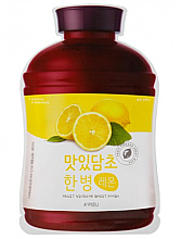 Parfüm, Parfüméria, kozmetikum Gyümölcsös szövetmaszk - A'Pieu Fruit Vinegar Sheet Mask Lemon
