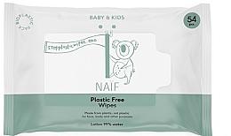 Parfüm, Parfüméria, kozmetikum Nedves törlőkendő - Naif Wet Wipes 54St Plastic Free