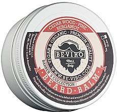 Parfüm, Parfüméria, kozmetikum Szakállbalzsam - Beviro Beard Balm Cedar Wood Pine Bergamot