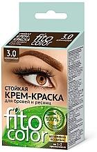 Parfüm, Parfüméria, kozmetikum Tartós szemöldök és szempilla krémfesték - Fito Kozmetikum FitoColor