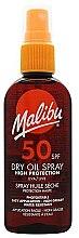 Parfüm, Parfüméria, kozmetikum Napvédő száraz olaj testre - Malibu Continuous Dry Oil Spray SPF 50