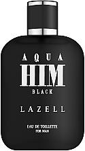Parfüm, Parfüméria, kozmetikum Lazell Aqua Him Black - Eau De Toilette
