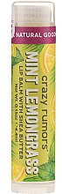 Parfüm, Parfüméria, kozmetikum Ajakápoló balzsam - Crazy Rumors Peppermint Lemongrass Lip Balm