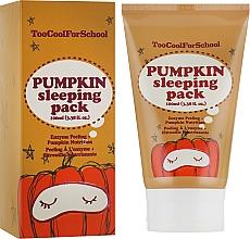 Parfüm, Parfüméria, kozmetikum Éjszakai maszk tök kivonattal - Too Cool For School Pumpkin Sleeping Pack