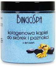 Parfüm, Parfüméria, kozmetikum Fürdősó kézre kollagénnel és ginzengel - BingoSpa