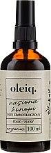 Parfüm, Parfüméria, kozmetikum Kendermag olaj testre és hajra - Oleiq Hemp Seed Hair And Body Oil