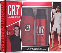 Parfüm, Parfüméria, kozmetikum Cristiano Ronaldo CR7 - Szett (sh/gel/200ml + deo/spray/114g)