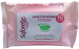 Parfüm, Parfüméria, kozmetikum Intim higiéniai törlőkendő - Saforelle Biodegradable Intimate Wipes