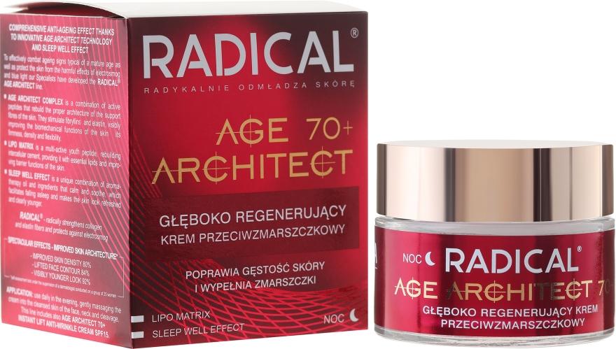 Ránctalanító éjszakai arckrém 70+ - Farmona Radical Age Architect Cream 70+