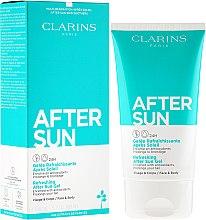 Parfüm, Parfüméria, kozmetikum Regeneráló napozás utáni arc-és testgél - Clarins Refreshing After Sun Gel 24H