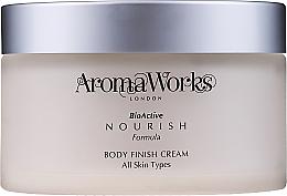Parfüm, Parfüméria, kozmetikum Testápoló krém - AromaWorks Body Finish Cream