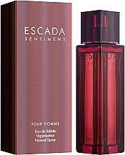 Parfüm, Parfüméria, kozmetikum Escada Sentiment pour homme - Eau De Toilette