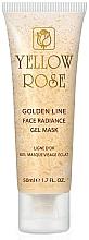 Parfüm, Parfüméria, kozmetikum Géles arcmaszk arannyal (tubus) - Yellow Rose Golden Line Face Radiance Gel Mask