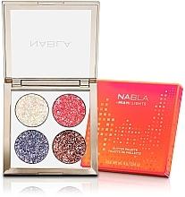 Parfüm, Parfüméria, kozmetikum Szemhéjfesték paletta - Nabla Miami Lights Collection Glitter Palette