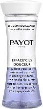 Parfüm, Parfüméria, kozmetikum Kétfázisú sminklemosó szemre, ajakra - Payot Les Demaquillantes Efface Cils Douceur Instant Smooth Decongesting Cleanser
