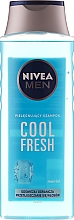 "Parfüm, Parfüméria, kozmetikum Férfi sampon ""Extrém friss"" - Nivea For Men Cool Fresh Mentol Shampoo"