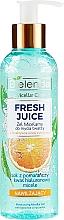 "Parfüm, Parfüméria, kozmetikum Hidratáló micellás gél ""Narancs"" - Bielenda Fresh Juice Micellar Gel Orange"