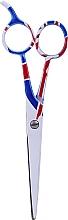 Parfüm, Parfüméria, kozmetikum Hajvágó olló, 5.5 cm - Ronney Professional White Flag London