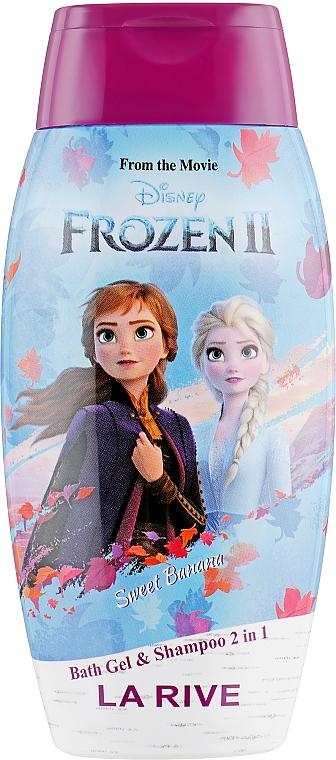 """Tusfürdő és sampon """"Édes banán"""" - La Rive Disney Frozen Bath Gel&Shampoo 2in1 Sweet Banana"""